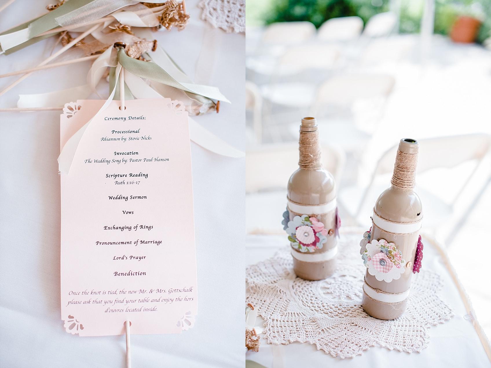 A Blush Summer Wedding - Virtues Golf Club - Ashley D Photography